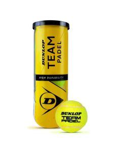 Dunlop Team Padel ballen 3 st.